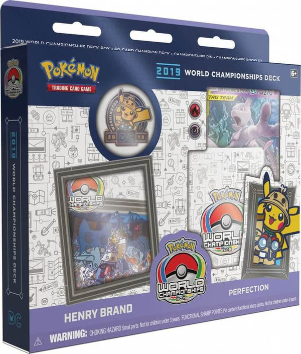 Pokemon - World Championships Deck 2019: Henry Brand