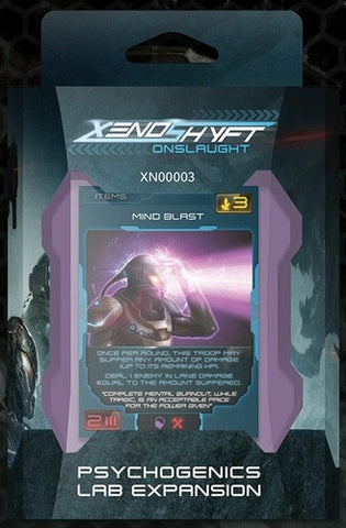 XenoShyft: Onslaught – Psychogenics Lab Expansion