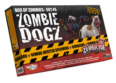 Zombicide Box of Zombies Set #5: Zombie Dogs