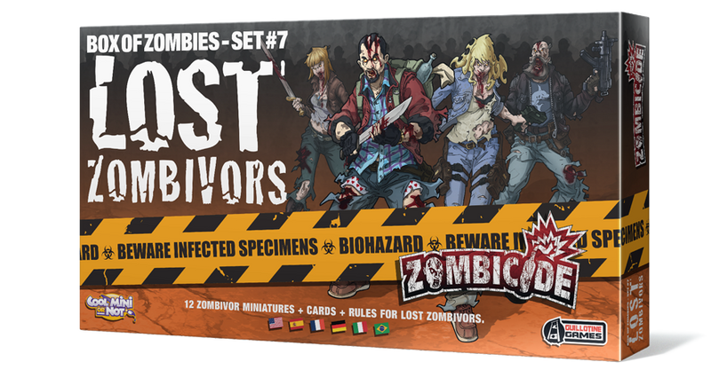 Zombicide Box of Zombies Set