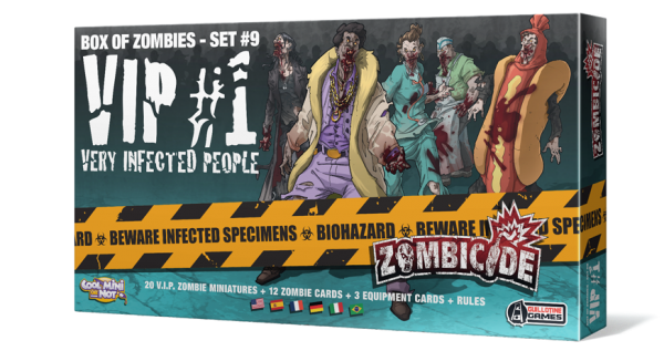 Zombicide Box of Zombies Set #9: VIP #1 - Very Infected People