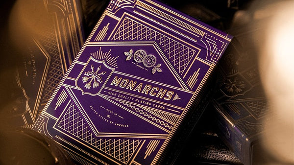 Bicycle Playing Cards - Theory-11 Purple Monarchs