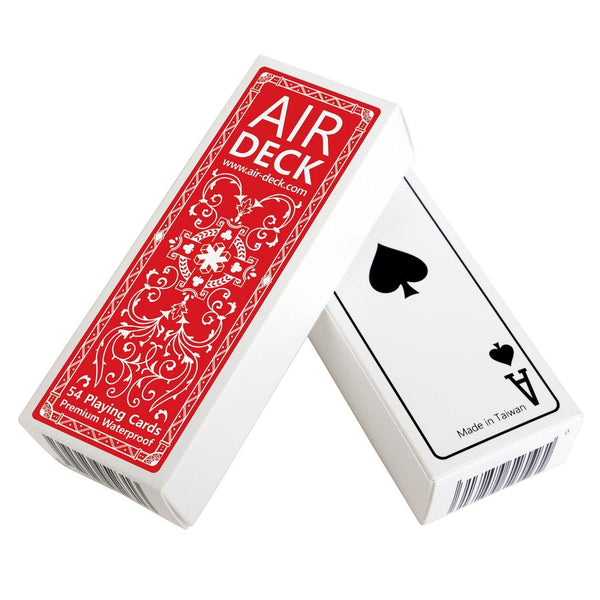 Air Deck Playing Cards - Classic Red