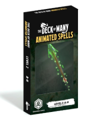 The Deck Of Many: Animated Spells: Level 2 A-H