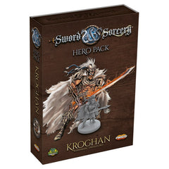 Sword & Sorcery: Hero Pack - Kroghan the Barbarian/Dreadlord *PRE-ORDER*