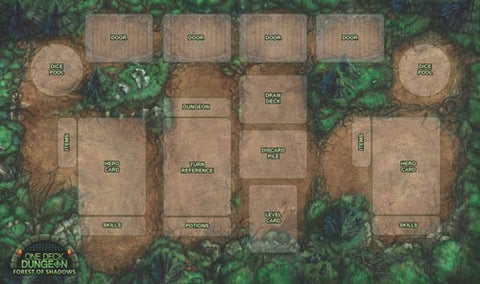One Deck Dungeon: Playmat