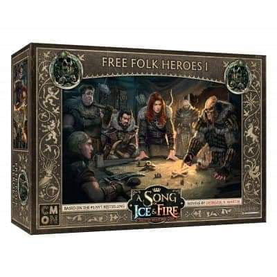A Song of Ice & Fire: Tabletop Miniatures Game - Free Folk Heroes I