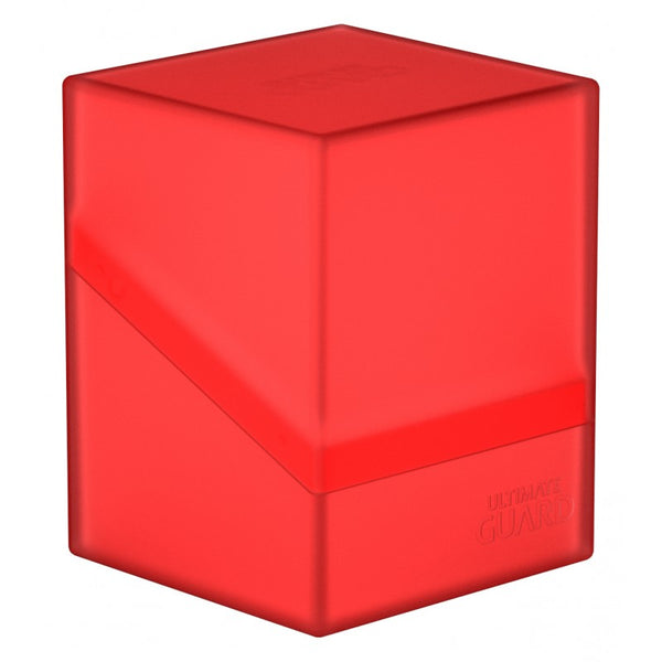Ultimate Guard - Boulder™ 100+ Deck Case Ruby (Red)