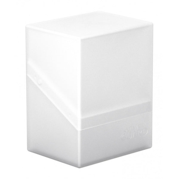 Ultimate Guard - Boulder™ 80+ Deck Case Frosted (White)