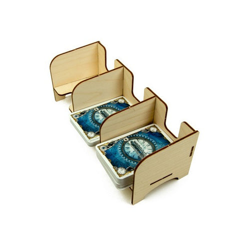 The Broken Token - Tabletop Card Holder - Euro 3 Tray