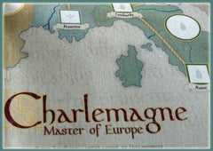 Charlemagne, Master of Europe - Canvas Map