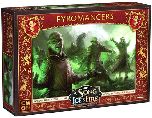 A Song of Ice & Fire: Tabletop Miniatures Game - Pyromancers