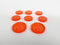 Acrylic Resource Tokens compatible with Terraforming Mars™ Expansion: Colonies™ (set of 8)