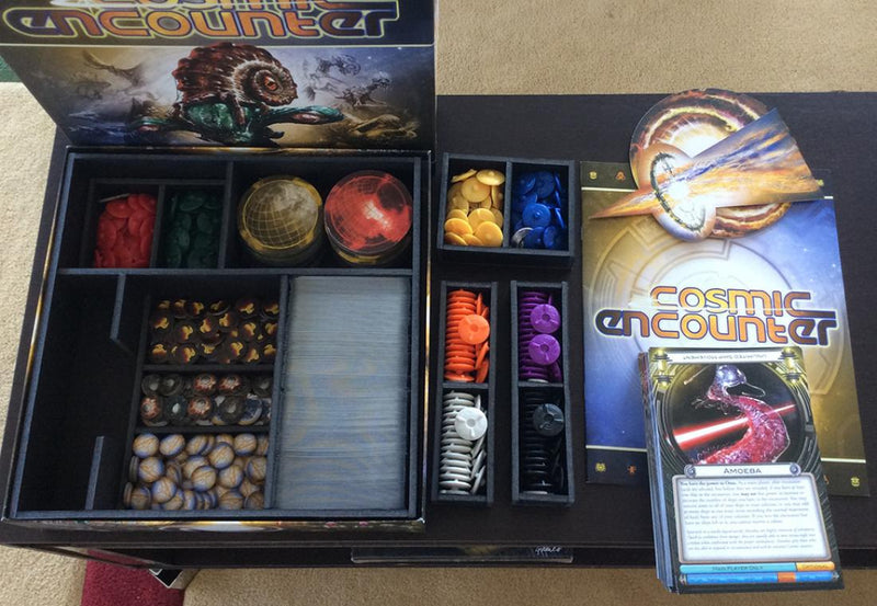 Insert Here - Cosmic Encounter w/Expansions Organizer
