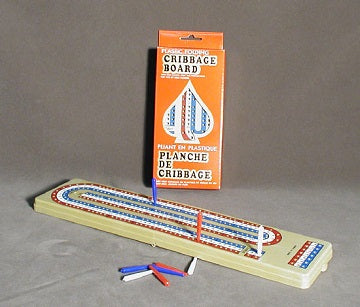 Cribbage: Folding Travel Set