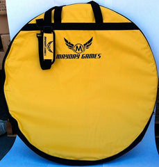 Carrying Case for Crokinole - Yellow