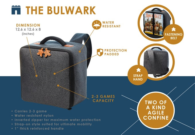 Board Game Truck - The Bulwark (Ash)
