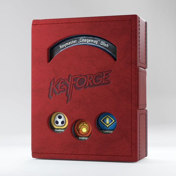 Gamegenic: Keyforge Deck Book - Red