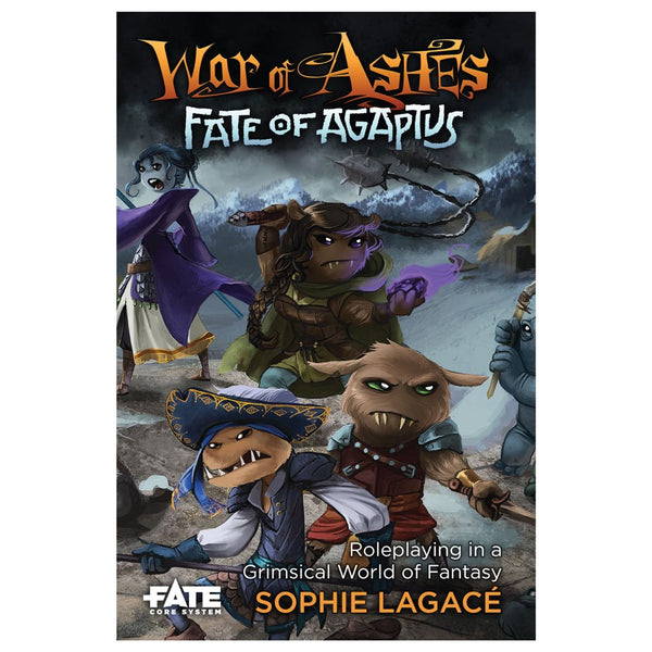 Fate Core - War of Ashes: Fate of Agaptus