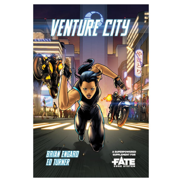 Fate Core: Venture City