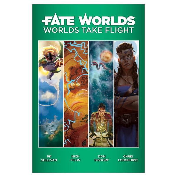 Fate Core Worlds: Worlds Take Flight