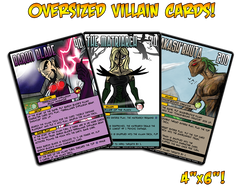 Sentinels of the Multiverse - Villain Oversized Cards
