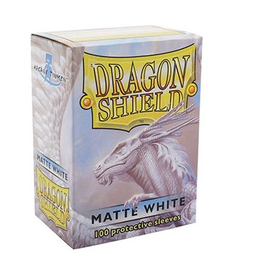 Dragon Shield - Matte White