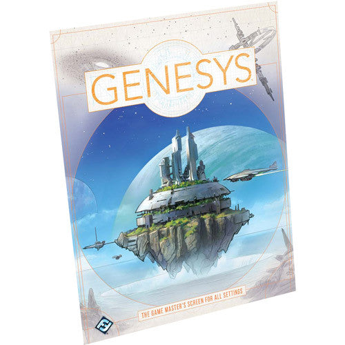 Genesys RPG: Game Master's Screen *PRE-ORDER*