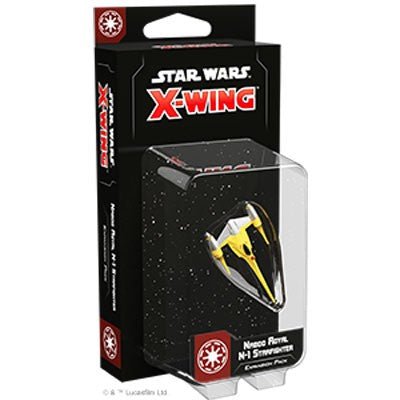 Star Wars X-Wing (Second Edition): Naboo Royal N-1 Starfighter Expansion Pack
