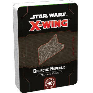 Star Wars: X-Wing (Second Edition) – Galactic Republic Damage Deck