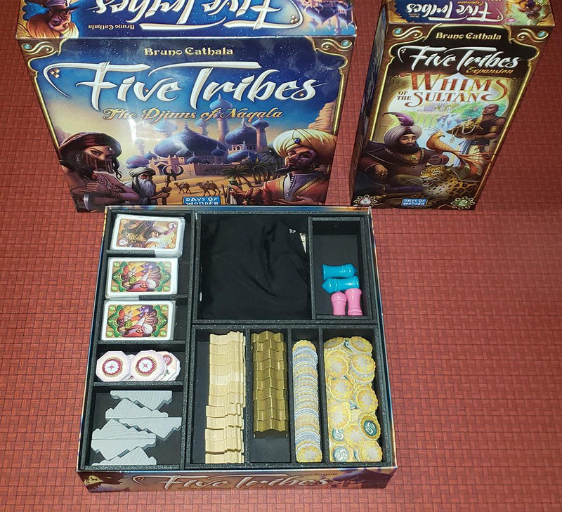 Insert Here - Five Tribes (v2) Organizer