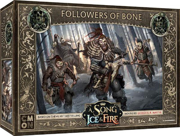 A Song of Ice & Fire: Tabletop Miniatures Game - Free Folk: Followers of Bone