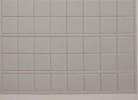 Blank Counter Sheet 1 inch (White)
