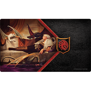 A Game of Thrones: The Card Game (Second Edition) - Mother Of Dragons Playmat