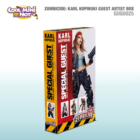 Zombicide Special Guest Box: Karl Kopinski
