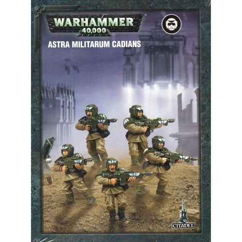 Games Workshop - Easy to Build Cadians