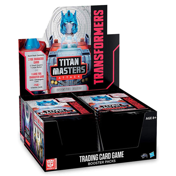 Transformers TCG: Titan Masters Attack - Booster Display