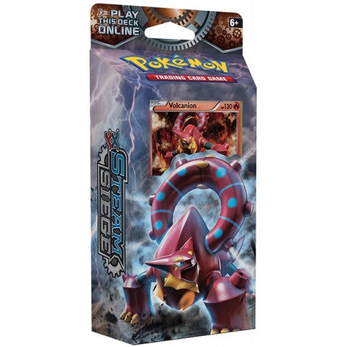 Pokemon - Steam Siege - Gears of Fire Theme Deck