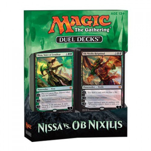 Magic: the Gathering - Duel Decks - Nissa vs. Ob Nixilis