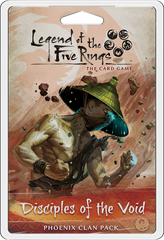 Legend of the Five Rings: The Card Game – Disciples of the Void *PRE-ORDER*