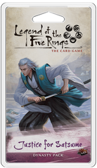 Legend of the Five Rings: The Card Game – Justice for Satsume