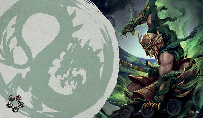 Legend of the Five Rings - Master of the High House of Light Playmat