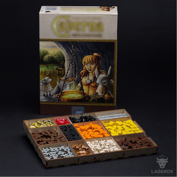 Laserox - Dwarven Mine (Compatible with Caverna: The Cave Farmers)