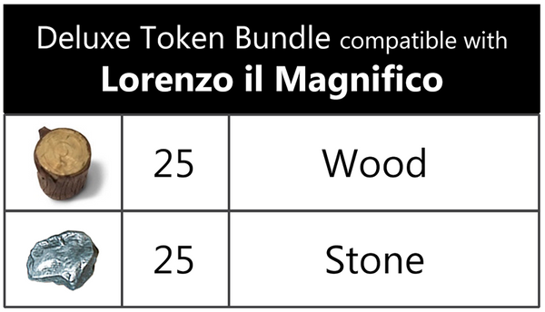 Deluxe Token Bundle compatible with Lorenzo il Magnfico