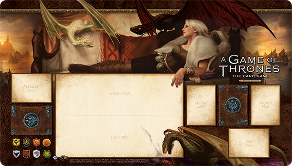 A Game of Thrones: The Card Game (Second Edition) - Stormborn Playmat
