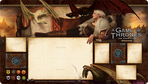 A Game of Thrones: The Card Game (Second Edition) - Stornborn Playmat
