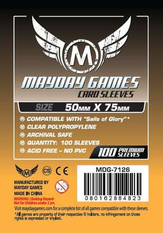 "Mayday - ""Sails of Glory"" Card Sleeves (Standard Protection)"
