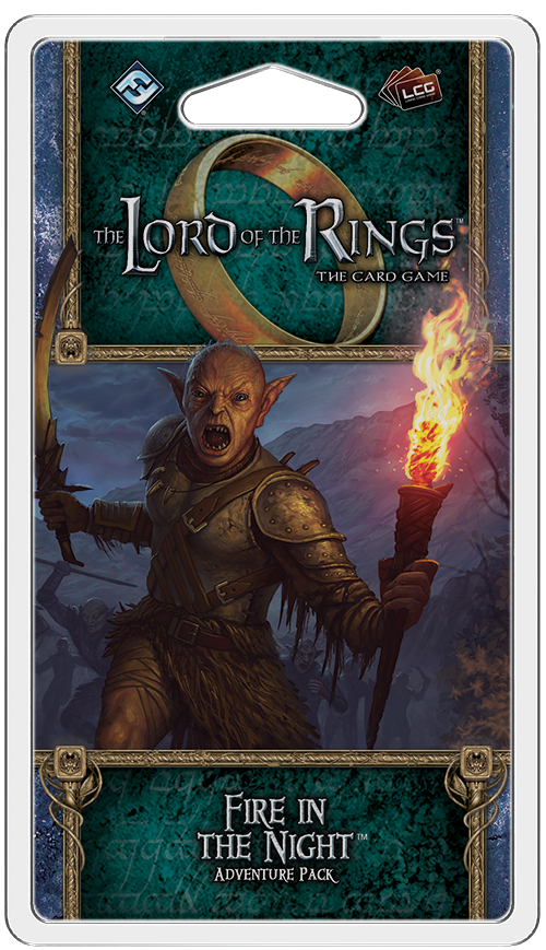 The Lord of the Rings: The Card Game - Fire in the Night