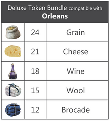 Deluxe Token Bundle compatible with Orleans