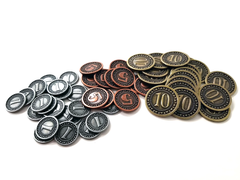 Orleans - Metal Coins for Orleans (51 pcs)